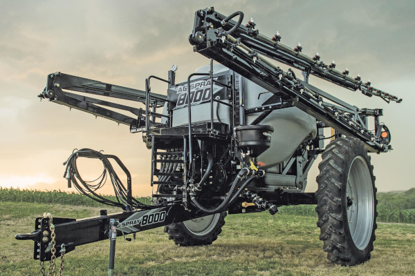 Ag Spray | Pull-Type Sprayers | Model 8000 SERIES SPRAYER W/ 60', 80' OR 90' BOOM for sale at Windstar Equipment and Auctions, TX